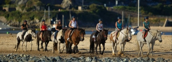 Pony trekking on the beach (15 or 35 mins)