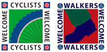 Cyclists-and-Walkers-Welcome