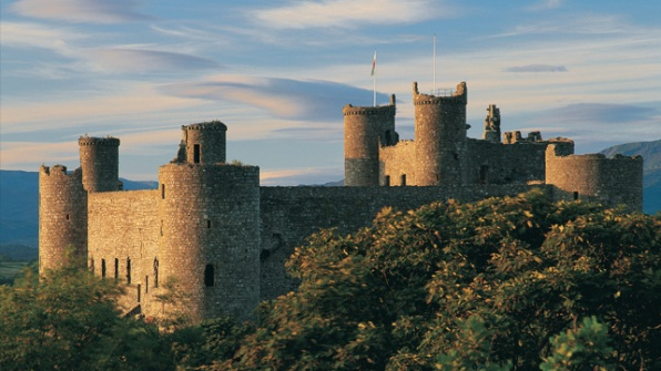 Harlech Castle (20 mins)