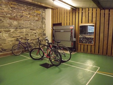 Our secure bike storage