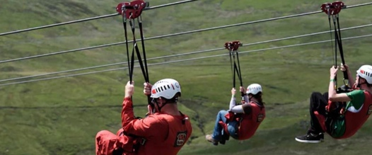 Adventure activities for all ages: Zip World Titan (10 mins away)
