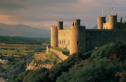 Harlech Castle (15 mins)