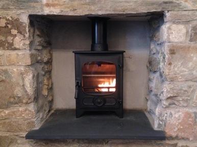 Charnwood wood-burner