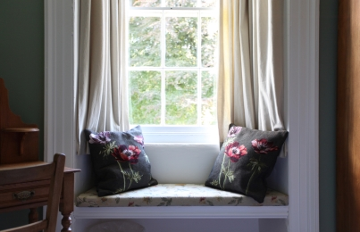 Detail: Second Bedroom Window Seat