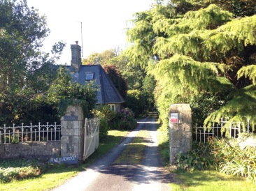 The Lodge is the original gatehouse to the estate