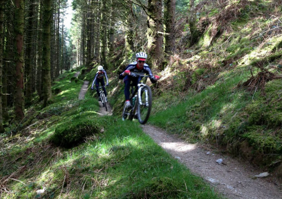 Descents at Penmachno