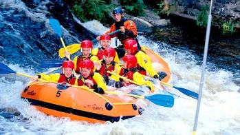 White Water Rafting (20 mins)